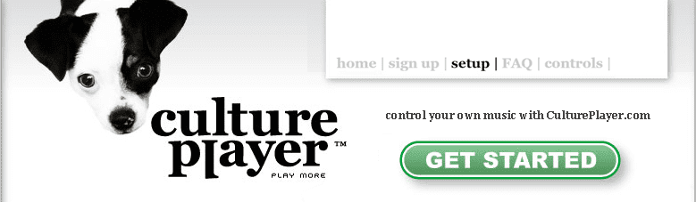 Culture Player header